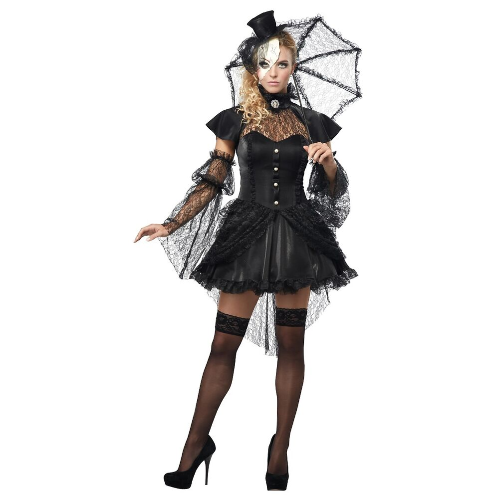 broken doll costume adult creepy halloween fancy dress ebay. Black Bedroom Furniture Sets. Home Design Ideas