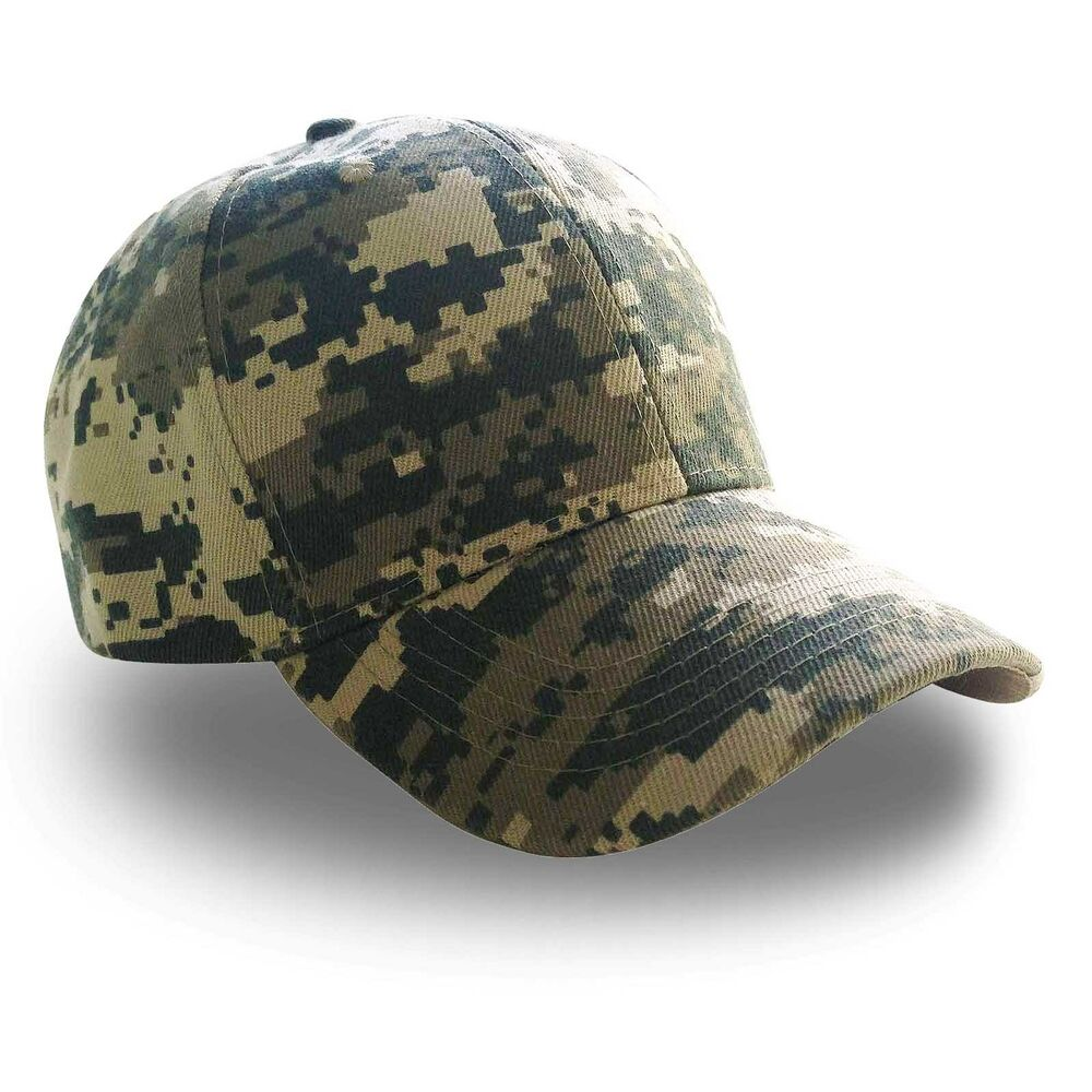 army digital camouflage camo baseball caps
