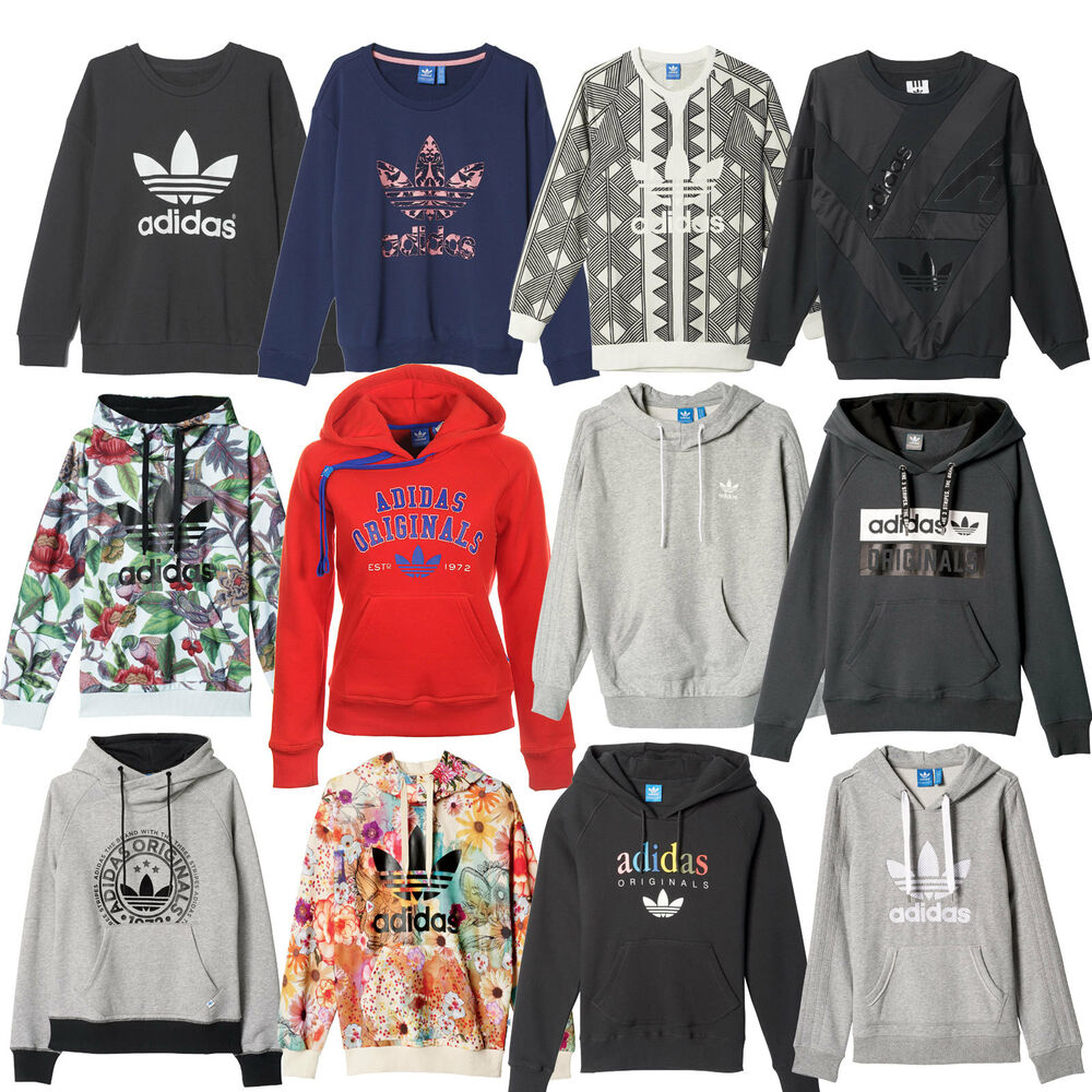adidas originals trefoil damen hoody freizeitpullover kapuzenpullover. Black Bedroom Furniture Sets. Home Design Ideas