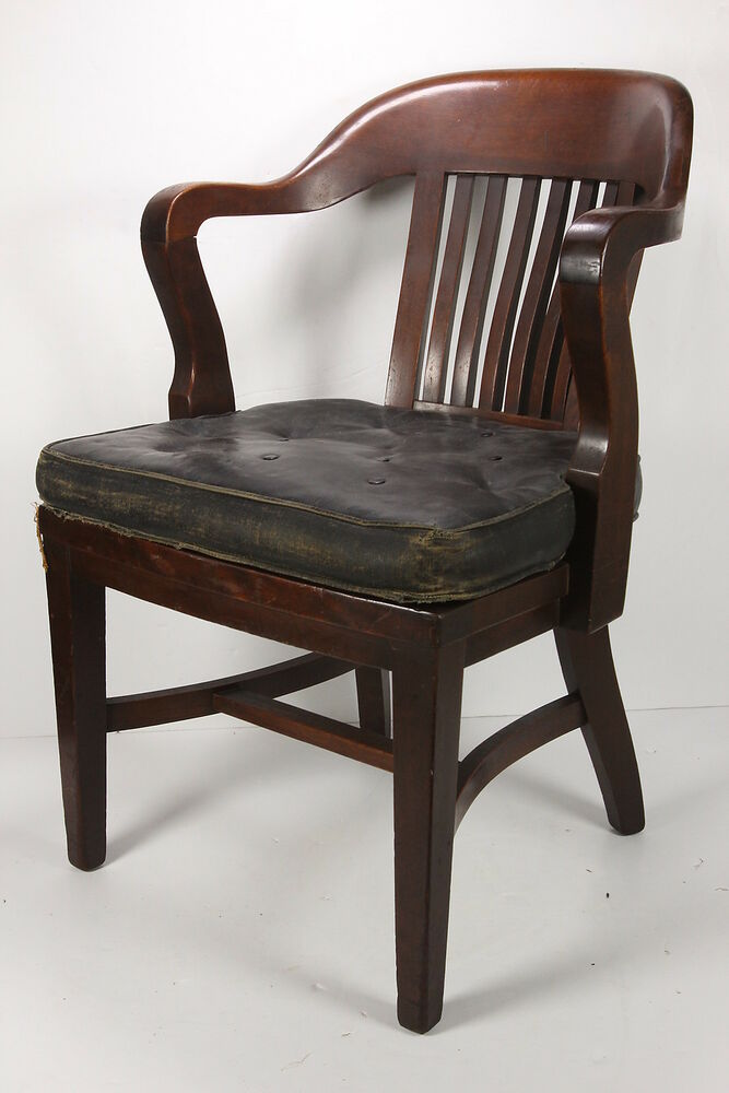 Marble Office Furniture ~ Walnut barrister chair marble co bedford oh