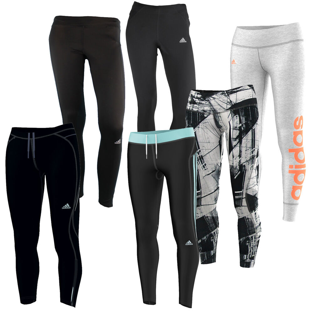 adidas performance tight 7 8 lang damen laufhose trainingshose leggings neu ebay. Black Bedroom Furniture Sets. Home Design Ideas