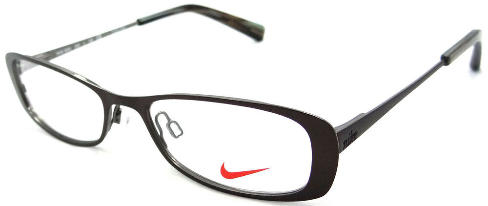 NIKE RX EYEGLASSES FRAMES 5569 246 49X16 COFFEE SMALL ...