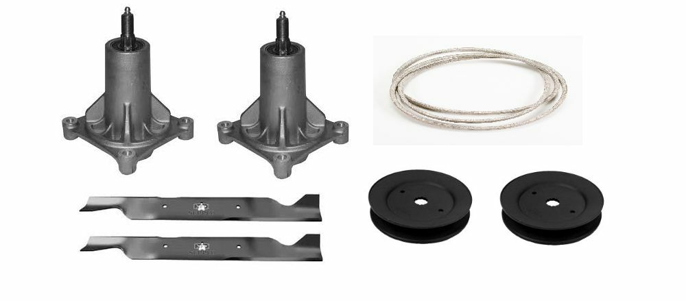 Craftsman Lt1000 Spindle Assembly : Craftsman quot deck rebuild kit