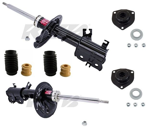 2000 Nissan Altima Suspension: NEW Front Strut Assembly & Mounts Suspension Kit OES Fits