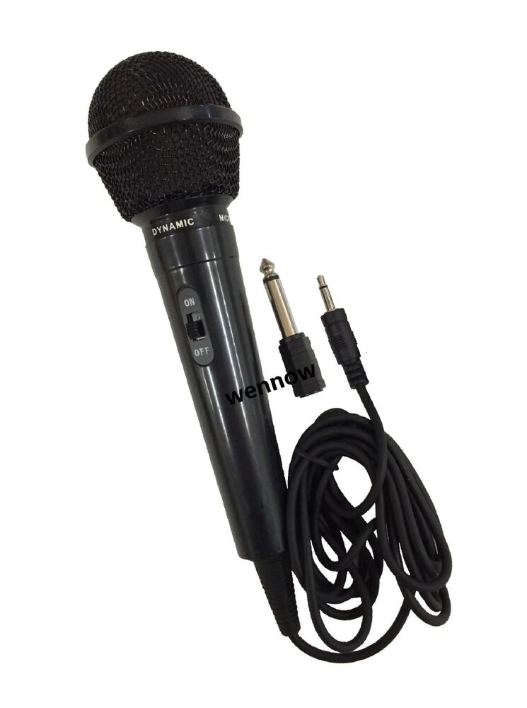 10 ft super sound uni directional dynamic wired handheld microphone ebay