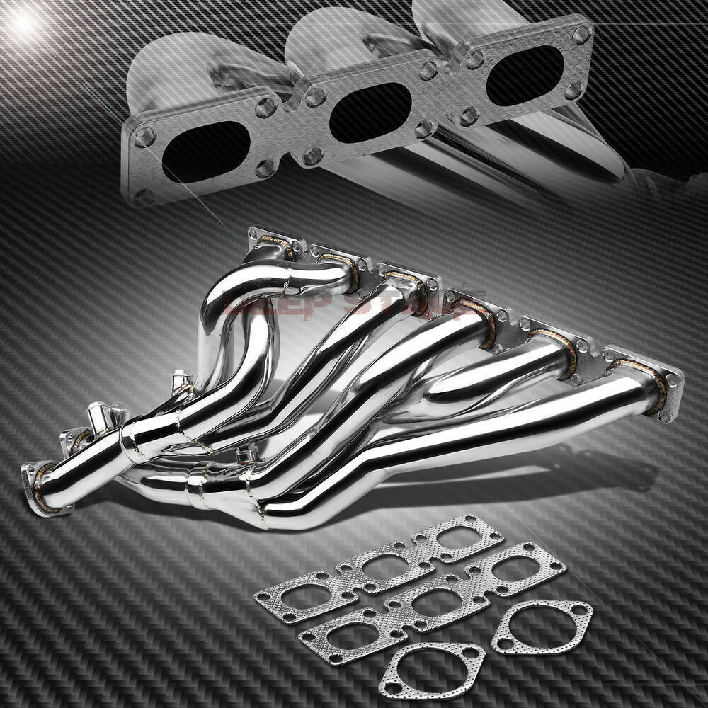 Bmw Z3 Exhaust: STAINLESS STEEL RACING MANIFOLD HEADER/EXHAUST FOR BMW E46