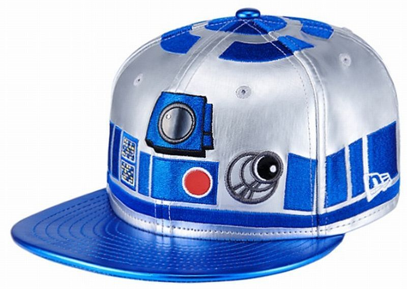 New Era X Star Wars 59fifty Fitted Cap R2d2 Rare Limited
