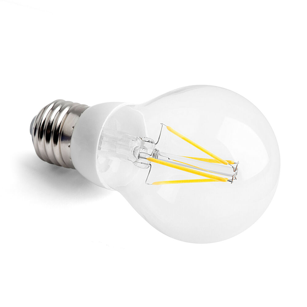 e27 led gl hfaden birne filament bulb warmwei 6w 8w 10w 100w gl hbirne dimmbar ebay. Black Bedroom Furniture Sets. Home Design Ideas