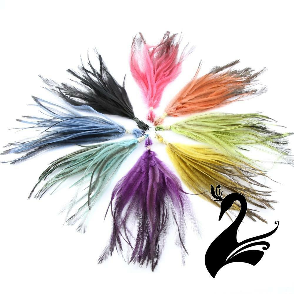 Feather emu bunch 15 25cm craft millinery fly fishing for Where can i buy feathers for crafts