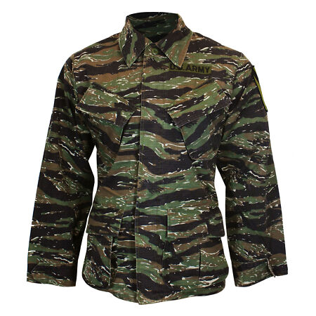 img-US Army Tiger Stripe VIETNAM JACKET - All Sizes REPRO American Camouflage Coat