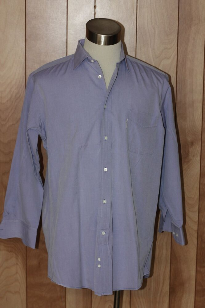 Men 39 S Faconnable Dress Shirt Size 16 5 35 Ebay