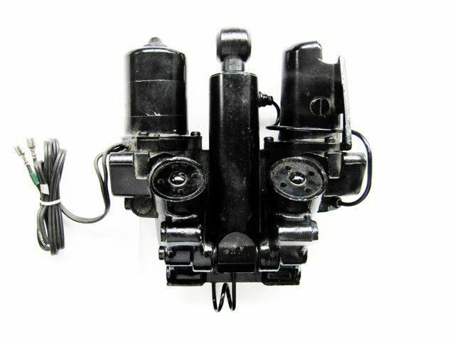 435569 power trim tilt hydraulic assembly johnson evinrude for Power trim motor for johnson outboard