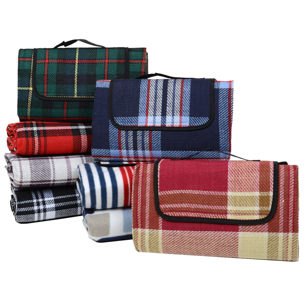 New Large 59x51 Quot Outdoor Waterproof Picnic Blanket Beach