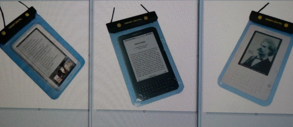 Waterproof Case/cover For Kindle 2,Kindle 3 E-reader Or