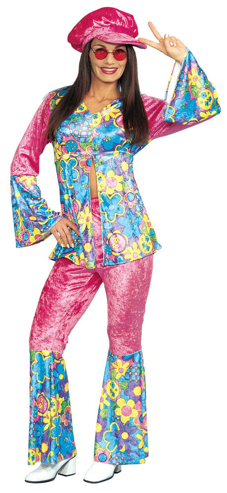 Flower Power - Adult Hippie Costume | eBay