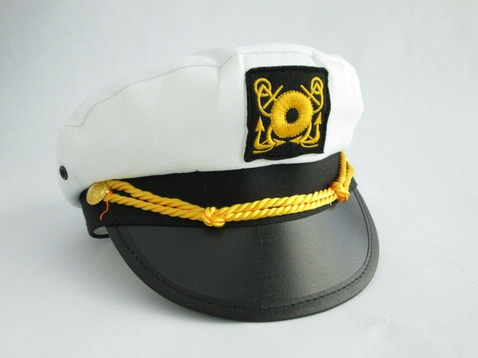 Aye, aye Captain! You'll be ready to steer any vessel with this ship captain's hat. This cotton sailor hat is a fun nautical look at sea or on land! /5(46).