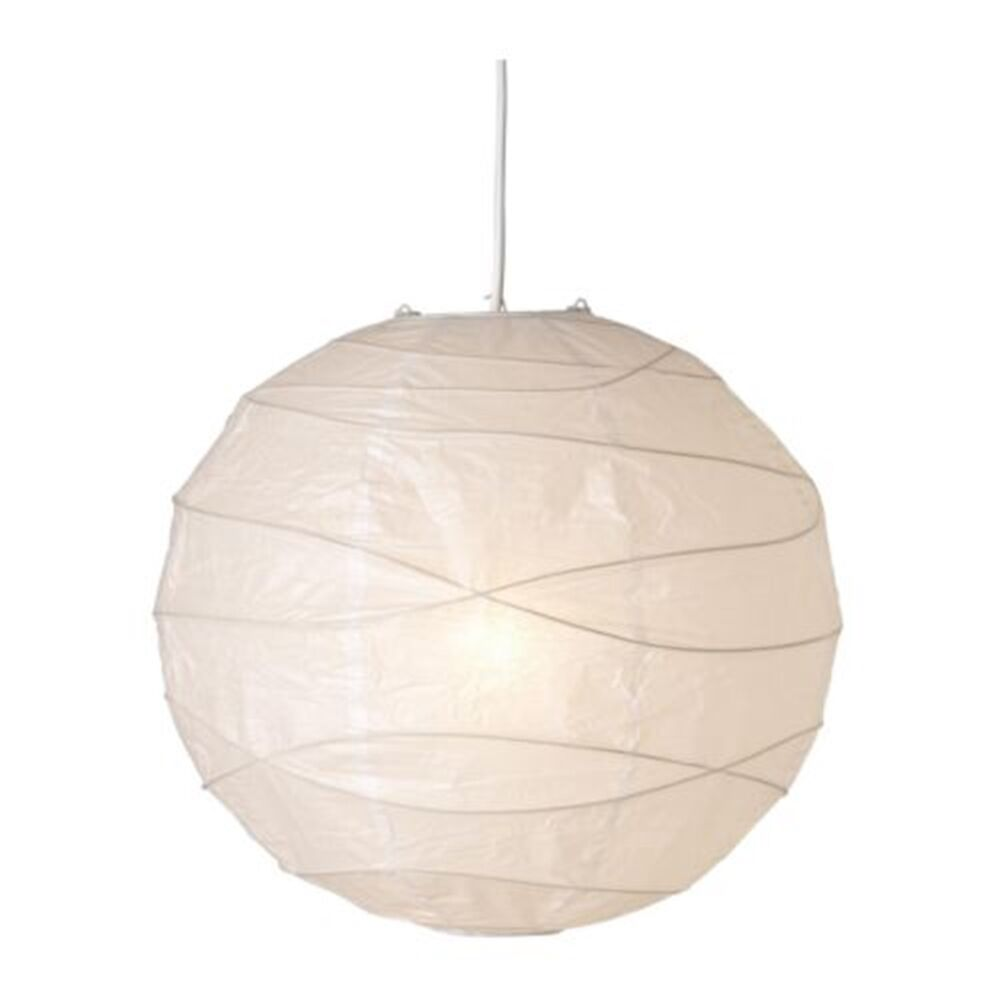 ikea regolit handmade 45cm white unique rice paper pendant. Black Bedroom Furniture Sets. Home Design Ideas