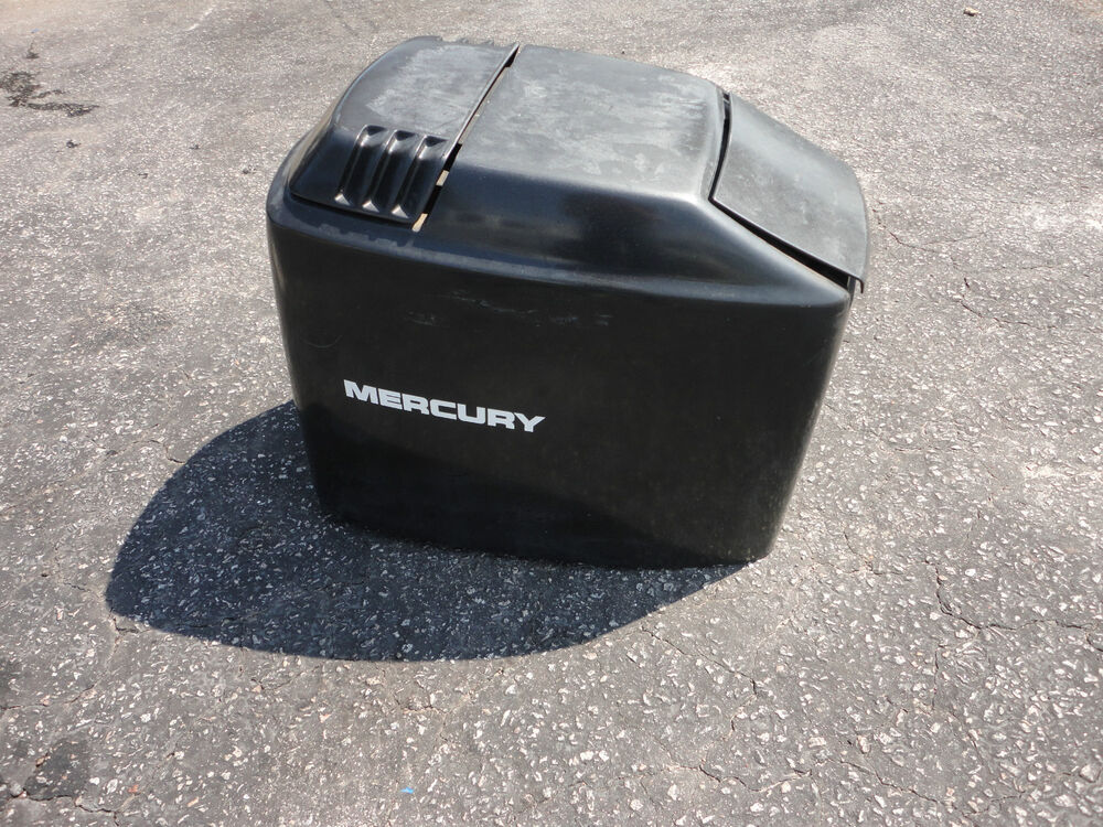 1994 mercury 115 hp elpto tracker cowling cowl hood cover for Tracker outboard motor parts