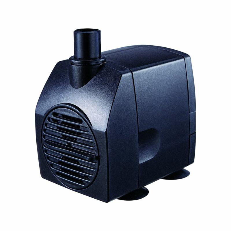 Jebao wp3500 1320gph water pump for koi goldfish pond for Submersible pond pump and filter