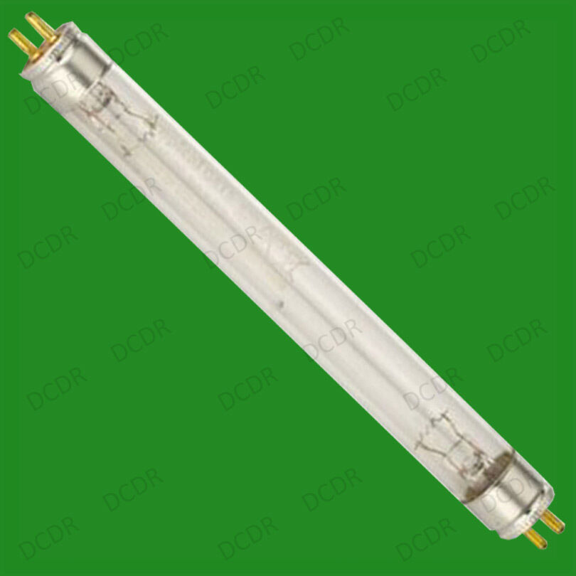 2x 6w uvc ultra violet germicidal light tubes fish pond uv for Fish pond filter uv light