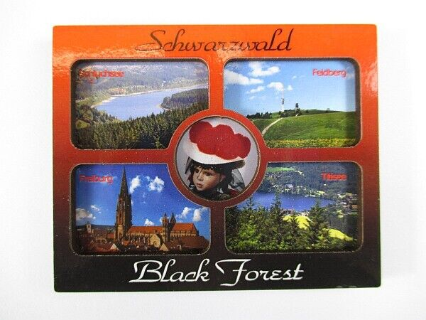 schwarzwald black forrest holz souvenir magnet germany deutschland neu ebay. Black Bedroom Furniture Sets. Home Design Ideas