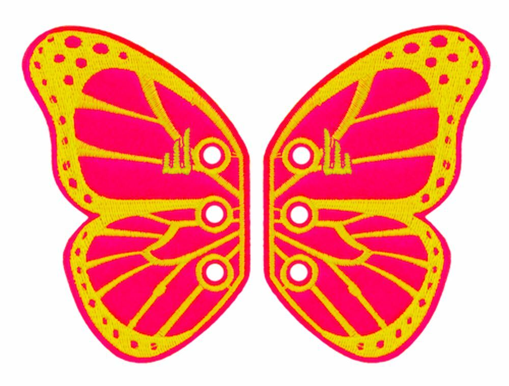 bb01665527 Details about SHWINGS Butterfly pink wings for your shoes official designer  Shwings NEW 50102