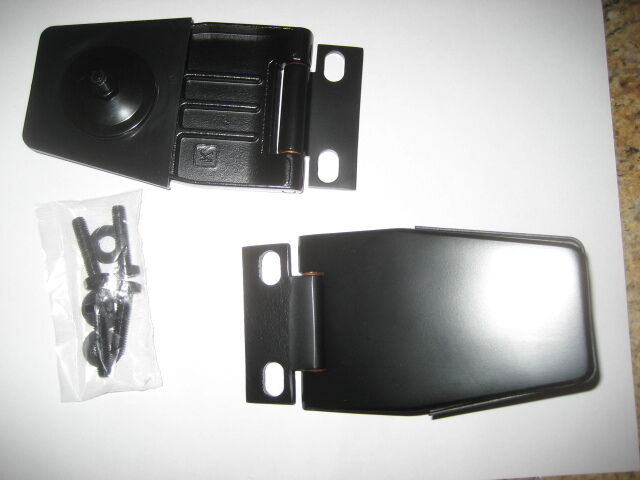 1997 Jeep Wrangler Lift Kit >> JEEP WRANGLER HARDTOP LIFTGATE HINGES 1987-2006 TJ YJ BLACK STAINLESS STEEL SET | eBay