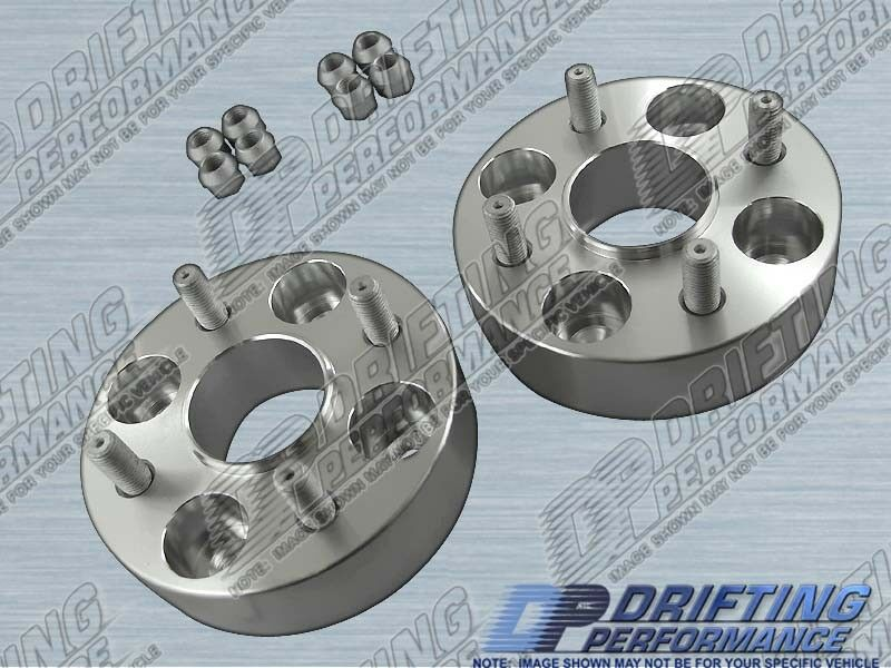 """HUB CENTRIC 1.5""""(38mm)WHEEL ADAPTERS SPACERS 4x100 FOR ..."""