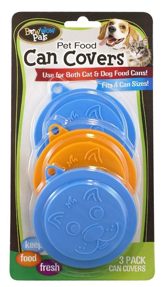 Plastic Dog Food Can Covers