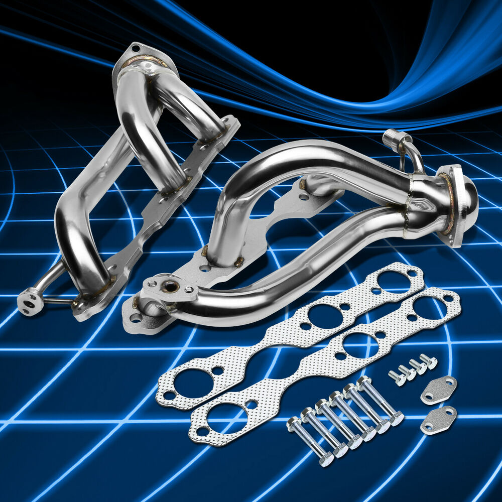 Fit Chevy/GMC S10 94-04 4.3L Stainless Steel Performance
