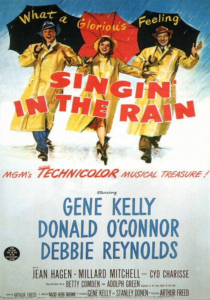 "singin in the rain analysis My class is on our last unit for drama, movement we watched a video called ""singing in the rain"" by gene kelly, a famous singer, dancer, and actor."