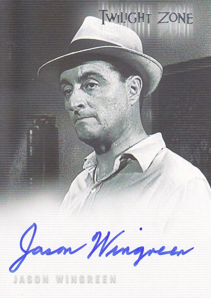 Details about 2005 TWILIGHT ZONE JASON WINGREEN AS MR. SCHUSTER AUTOGRAPH  CARD A76