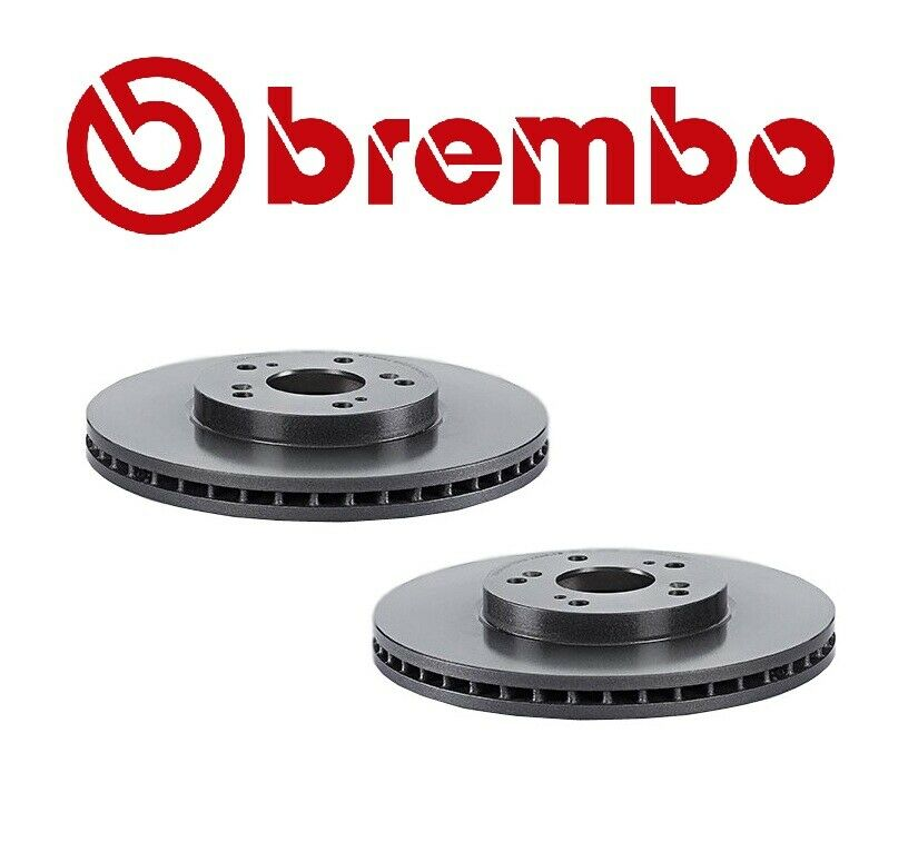 Set Of 2 Brembo Front Brake Rotor Acura CL TL MDX TSX