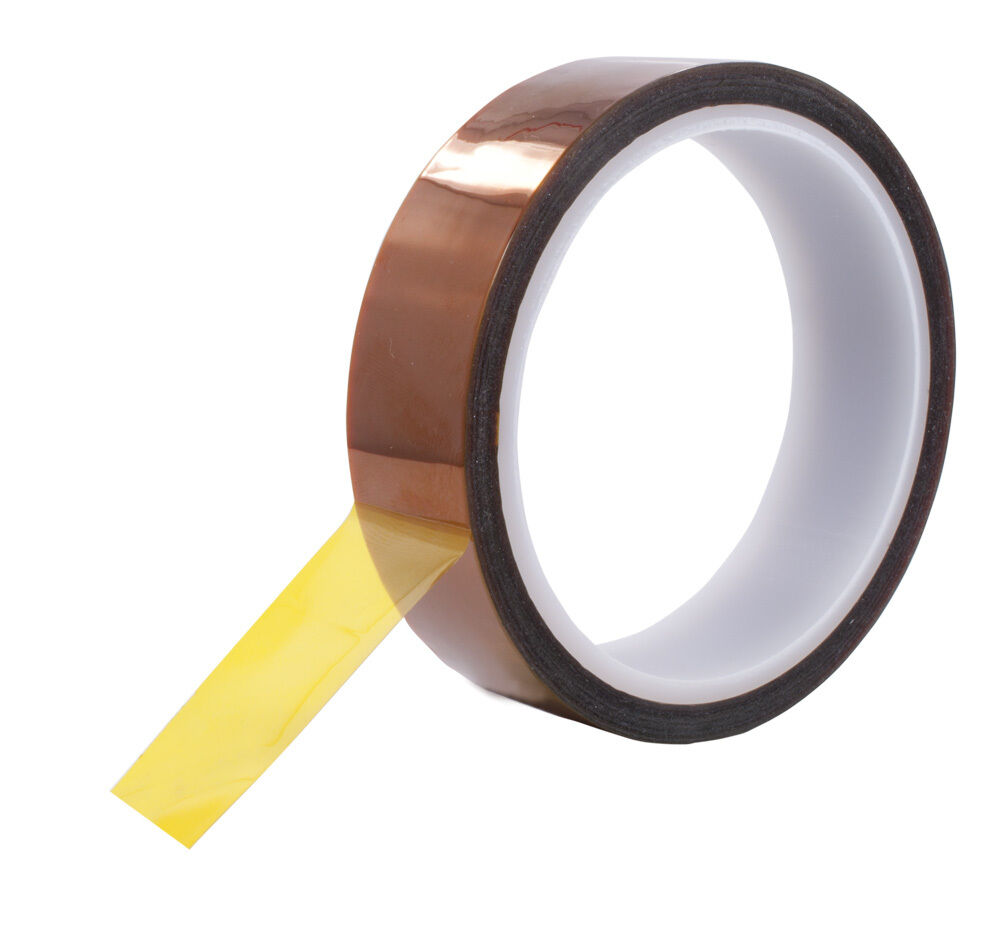 1 Quot X 36yds 1 Mil Kapton Tape Tattoo Coil Machine Electrical Insulation Polymide Ebay