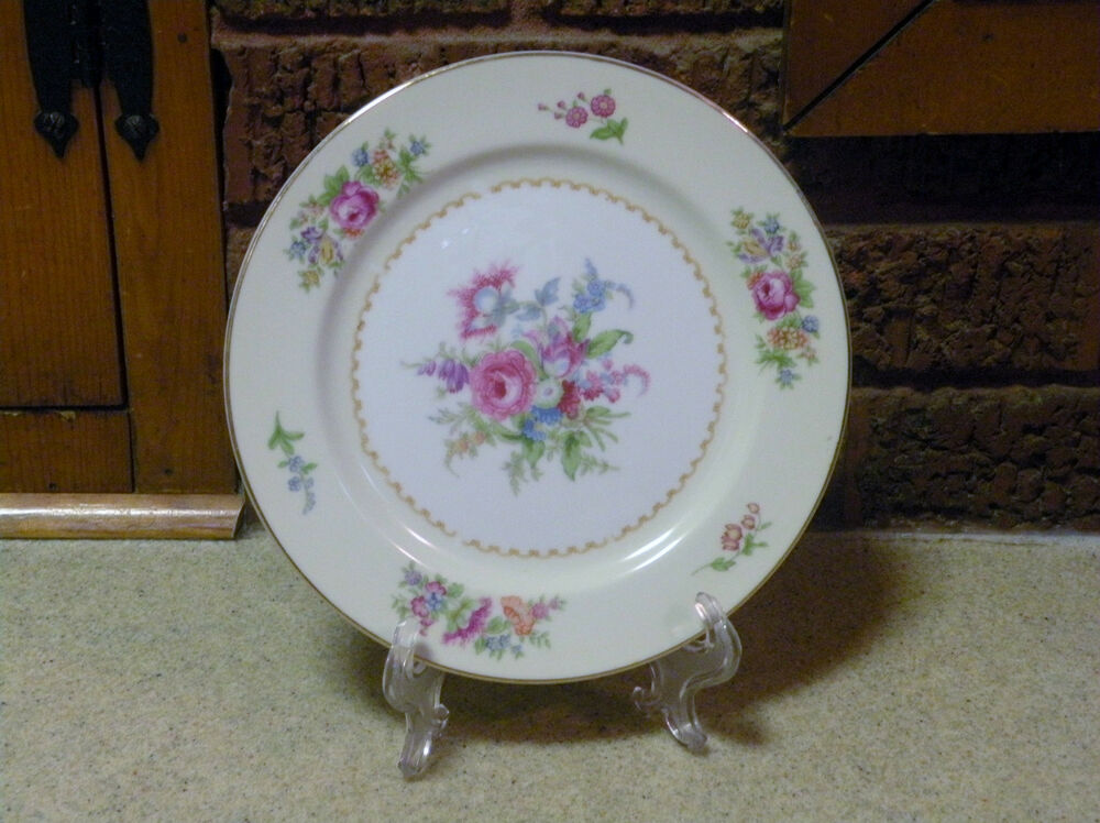 "Vintage NORITAKE China - EMPIRE Salad Plate / Plates - 7 5/8"" - made in Japan  eBay"