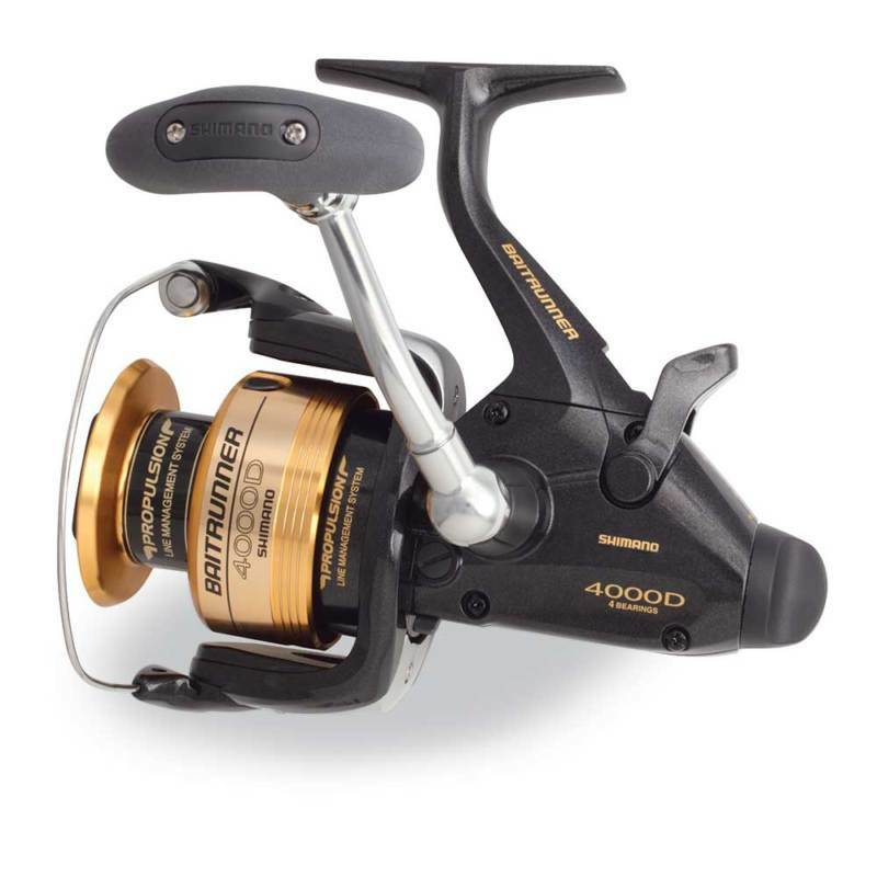 New shimano baitrunner 4000d fishing reel btr4000fd ebay for Ebay fishing reels shimano