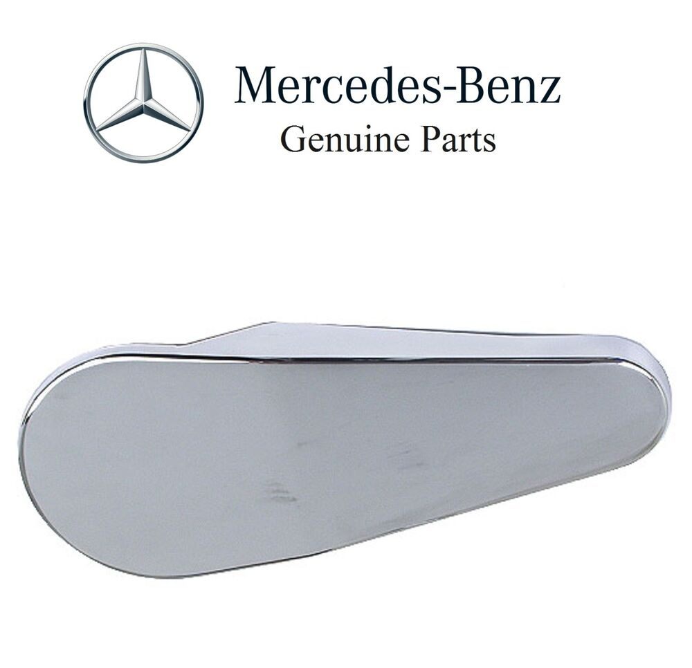 Mercedes r107 seat hinge cover right upper drivers seat for Mercedes benz original seat covers
