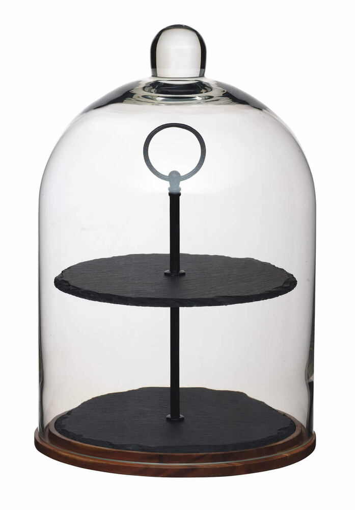 Tiered Cake Stand With Dome