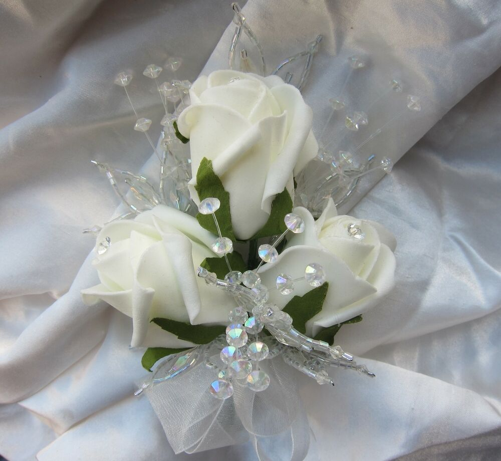 4 Ladies Wedding Flowers Prom Mother Of Bride Corsage