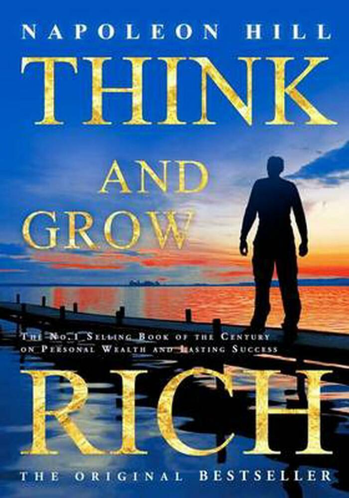 Rich Napoleon Hill Beard King Guys Follow For Daily: NEW Think And Grow Rich By Napoleon Hill Paperback Book