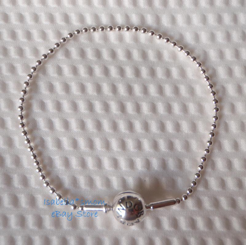 essence collection authentic pandora silver beaded charm