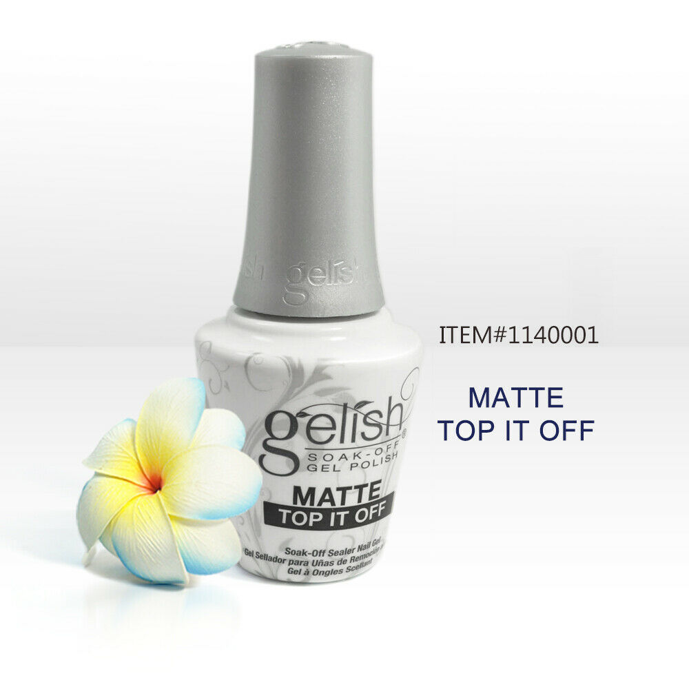 Nail Harmony Soak Off Matte Top It Off Gel Nail Polish 0