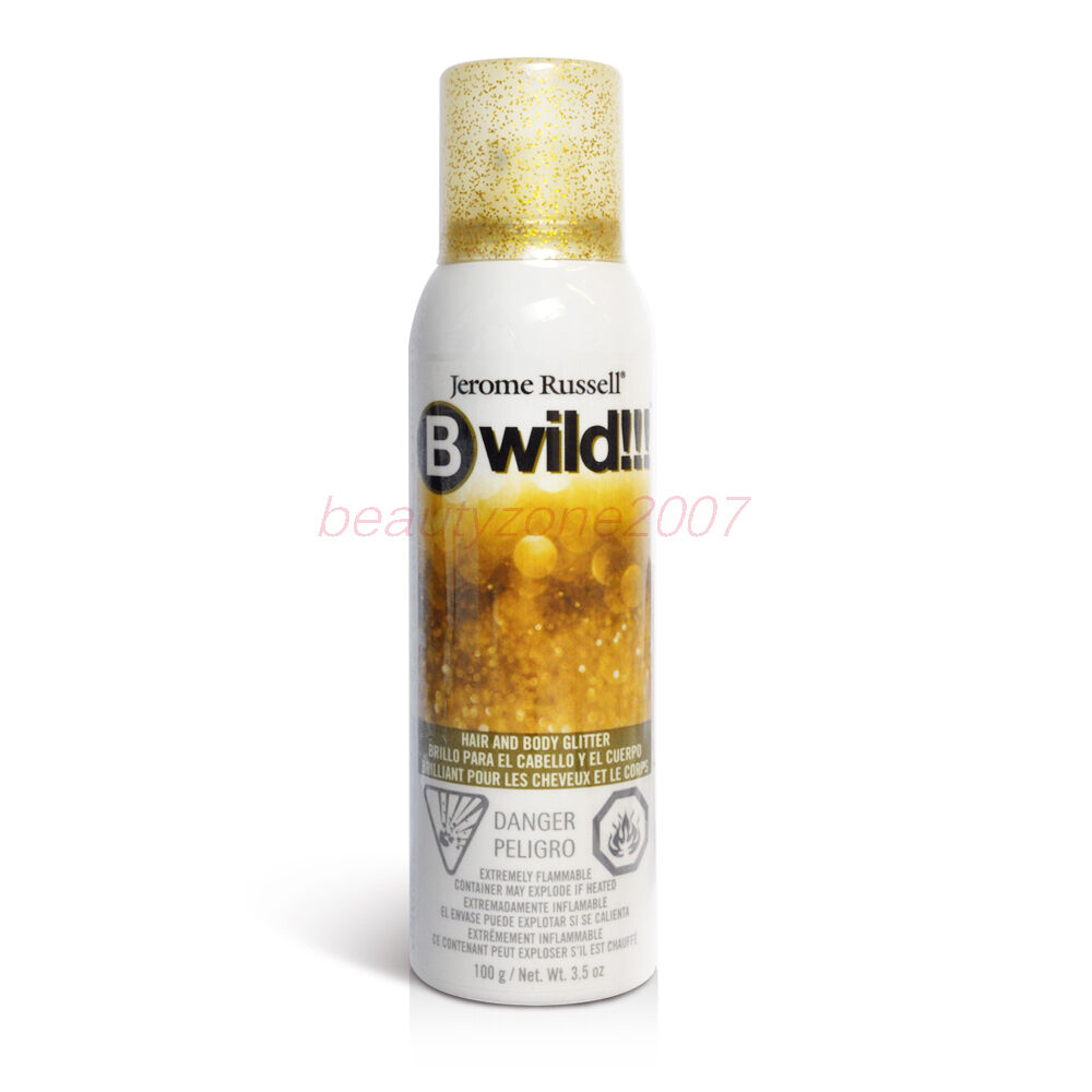 Gold Jerome Russell Bwild Temporary Hair Color Spray 3 5