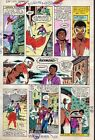 1982 Zeck Captain America 272 page 16 Marvel Comic color guide art:1980's/Falcon