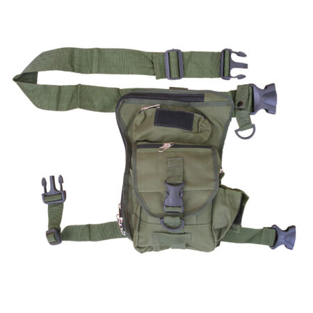 img-Mens Combat Army Military Travel Bag Waist Shoulder Belt Bum Day Pack Holster