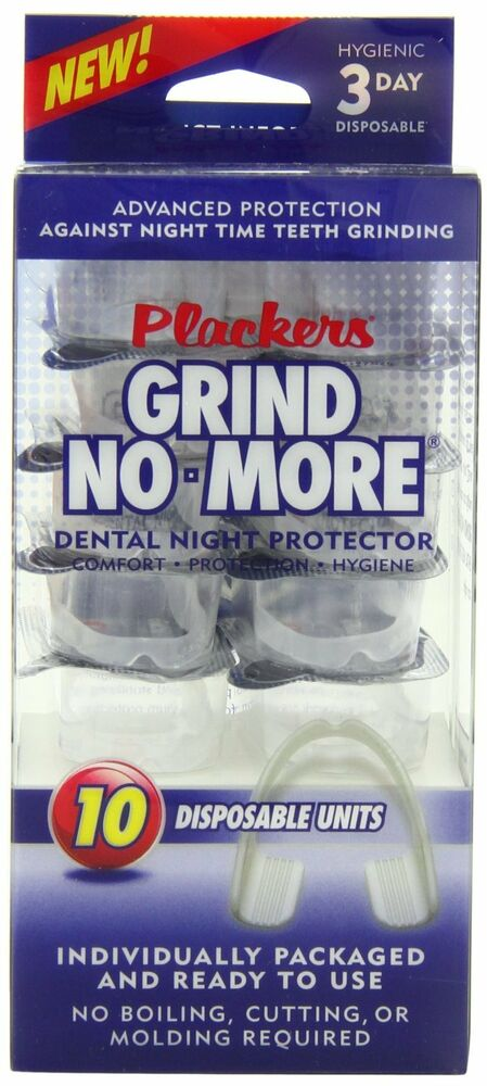 Plackers Mouth Guard Grind No More Night Time Use, 1 ...