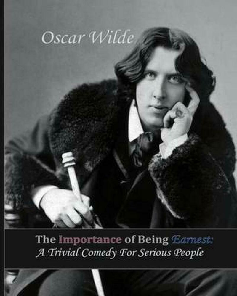 New the importance of being earnest a trivial comedy for for Farcical comedy in the importance of being earnest