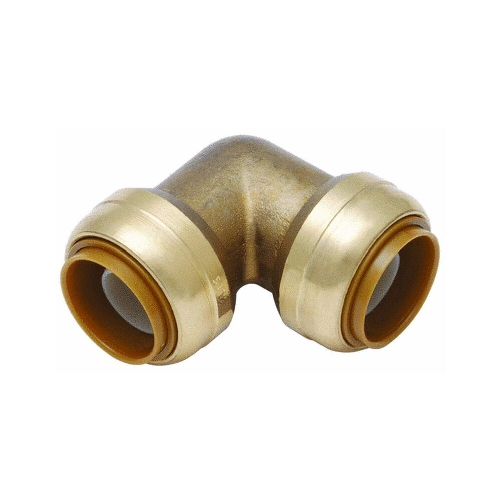 Shark bite u a degree elbow push pipe fittings by