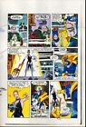1984 Captain America 296 page 12 Marvel Comics original color guide art: 1980's