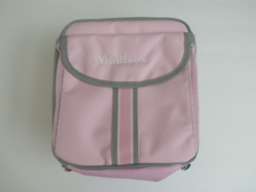 Pottery Barn Kids Light Pink Lunch Bag Quot Madison Quot New Ebay